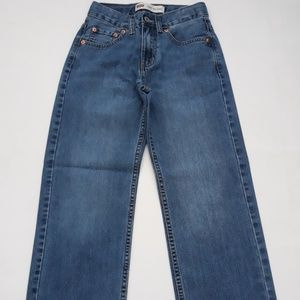 Boy's Levi's 550 relaxed fit jeans Dark blue Sz 12